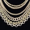 Chains, gold, silver, platinum, diamonds, omega  2