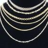 Chains, gold, silver, platinum, diamonds, omega  5